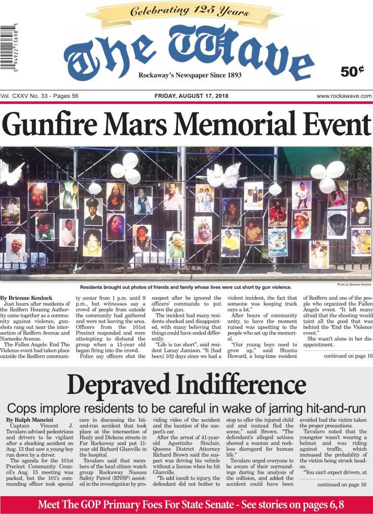 Gunfire Mars Memorial Event