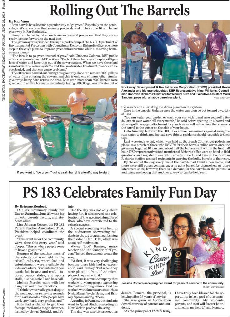 PS 183 Celebrates Family Fun Day
